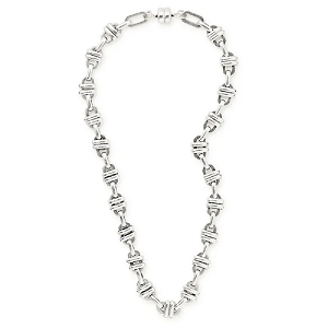 Olympia Magnetic Necklace Rafaelian Silver