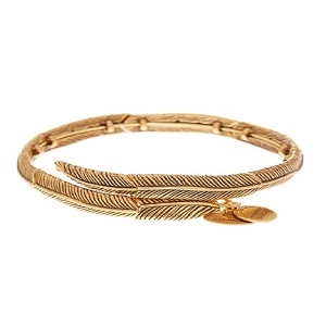 Feather Spirit Wrap Rafaelian Gold