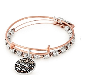 Warmest Wishes Set of 2 Rose Gold