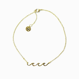 Anklet Wave Gold