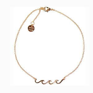 Anklet Wave Rose Gold