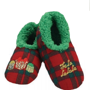 Ugly Christmas Plaids Falala Large 9-10
