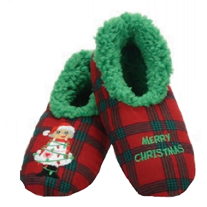 Ugly Christmas Plaids Merry Christmas Medium 7-8