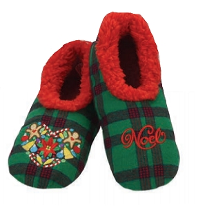 Ugly Christmas Plaids Noel Medium 7-8