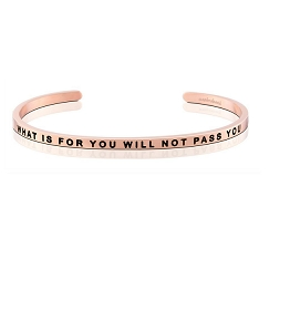 What Is For You Will Not Pass You Rose Gold