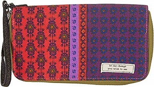 Vagabond Gypsy Zip Wallet Small Acts WLT124