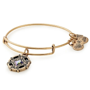 Wings of Change Charm Bangle American Cancer Society Gold