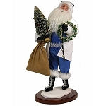 Byers Choice Wonderland Santa 18