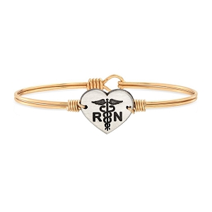 Nurse Bangle Bracelet Gold 7.0