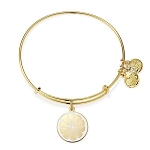 Zest for Life Charm Bangle Yellow Gold