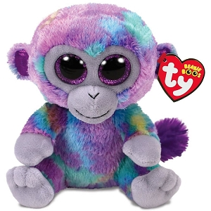 Beanie Boos Zuri Monkey Stuffed Animal 6