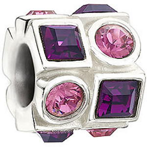 Circle & Square Pink & Purple 2083-0404