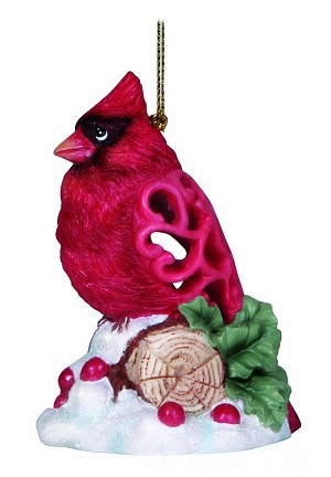 Cardinal Brighten Up Ornament 131405