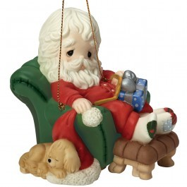 And To All A Goodnight 8th in Annual Santa Series Ornament 161031