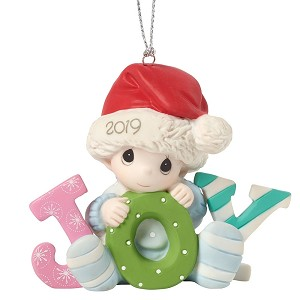 Babys First Christmas 2019 Ornament Boy 191006