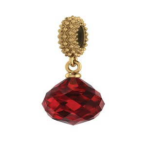 Ruby Mysterious Drop Gold 3801-3