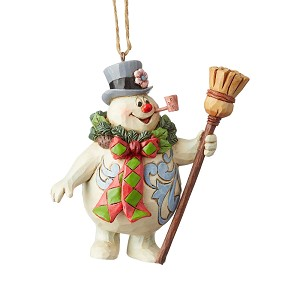 Frosty With Wreath Ornament 6004160