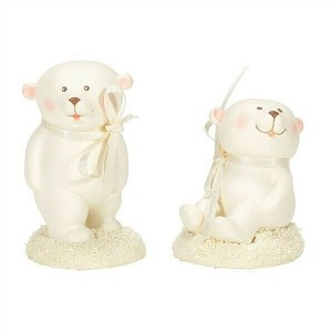 Department 56 Collectible Animal Baby Bear 2020 6004931 Set of 2