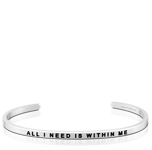 All I Need Is Within Me Silver