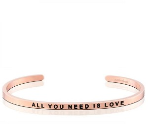 All You Need Is Love Rose Gold