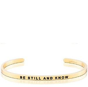 Be Still And Know Gold