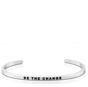 Be The Change Silver