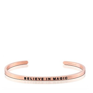 Believe in Magic CharityBand Rose Gold