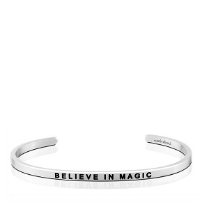 Believe in Magic CharityBand Silver