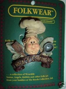 Boyds Bears Chef Nosh Whats Cooking 26408 Pin