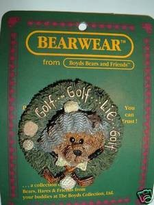 Boyds Bears Golf Arnold Chip Putt 26121  Pin