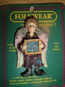Boyds Bear Ms Patience Teacher Pin 26405