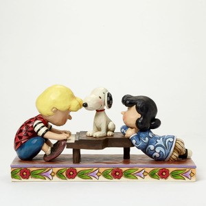 Schroeder with Lucy & Snoopy 4042385