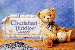 Cherished Teddies Sign Plaque 951005