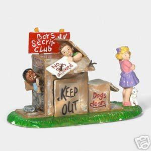 Department 56 Halloween No Girls Allowed 55217