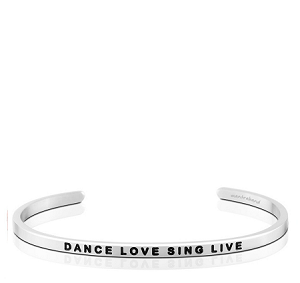 Dance Love Sing Live Silver
