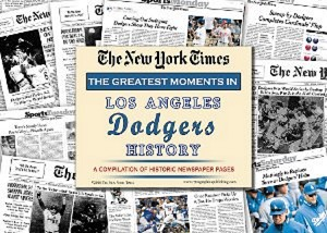 LA Dodgers New York Times Historic Newspaper Compilation