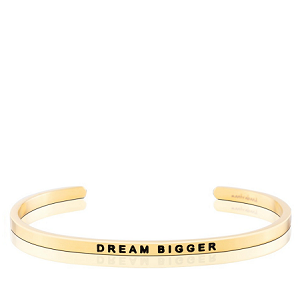 Dream Bigger Gold