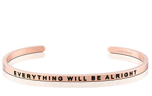 Everything Will Be Alright Rose Gold