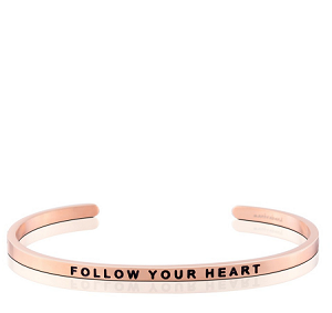 Follow Your Heart Rose Gold