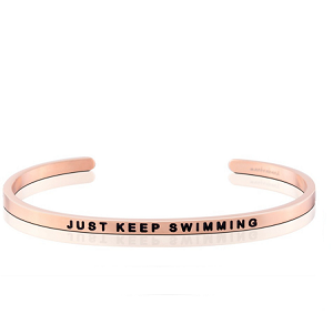 Just Keep Swimming Rose Gold