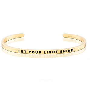 Let Your Light Shine Gold
