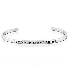 Let Your Light Shine Silver
