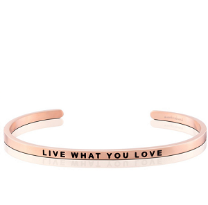 Live What You Love Rose Gold