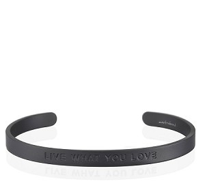 Mens Live What You Love Matte Black