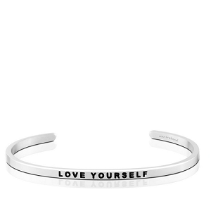 Love Yourself Silver