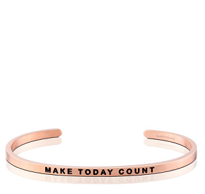 Make Today Count Rose Gold