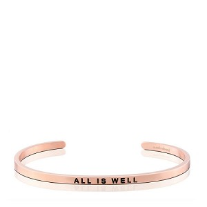 All Is Well Rose Gold