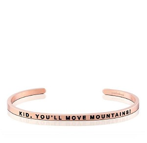 Kid, You'll Move Mountains Rose Gold