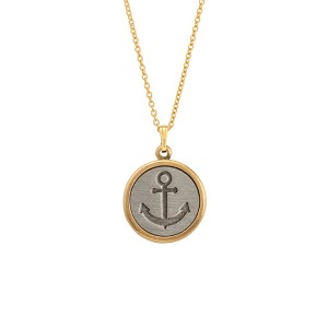 Stay Anchored Necklace 18Kt Gold Plated