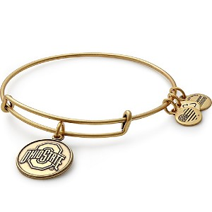 Ohio State University Logo Charm Bangle Rafaelian Gold